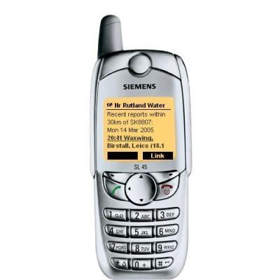 Siemens SL45 - Gris