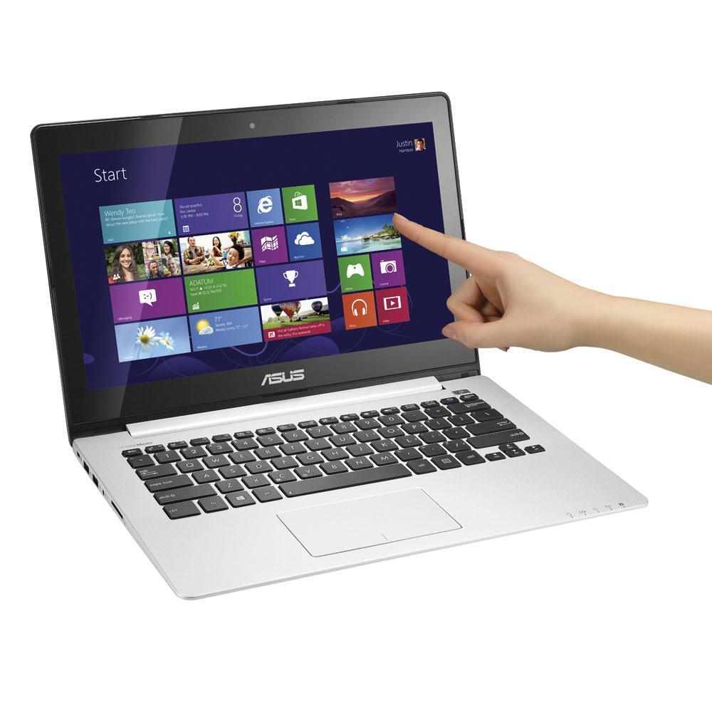 Asus VIVOBOOK S300CA-C1017H -  Intel Core i3-3217U @ 1800 MHz GHz -  500 go Go - RAM 4 GO RAM Go