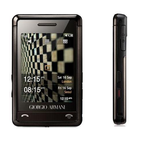 Samsung SGH-P520 Giorgio Armani - Noir Débloqué