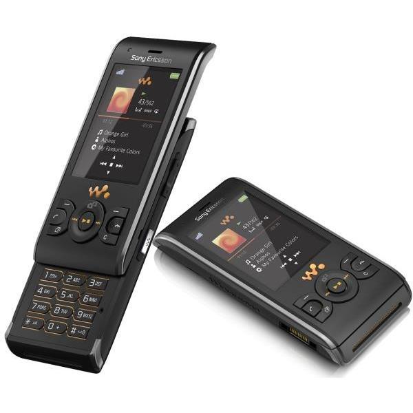 Sony Ericsson W595 Noir Débloqué