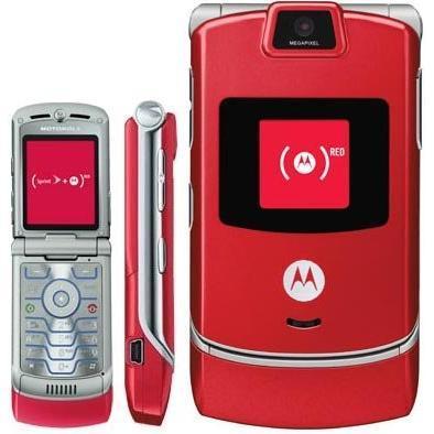 Motorola V3 Rouge Débloqué