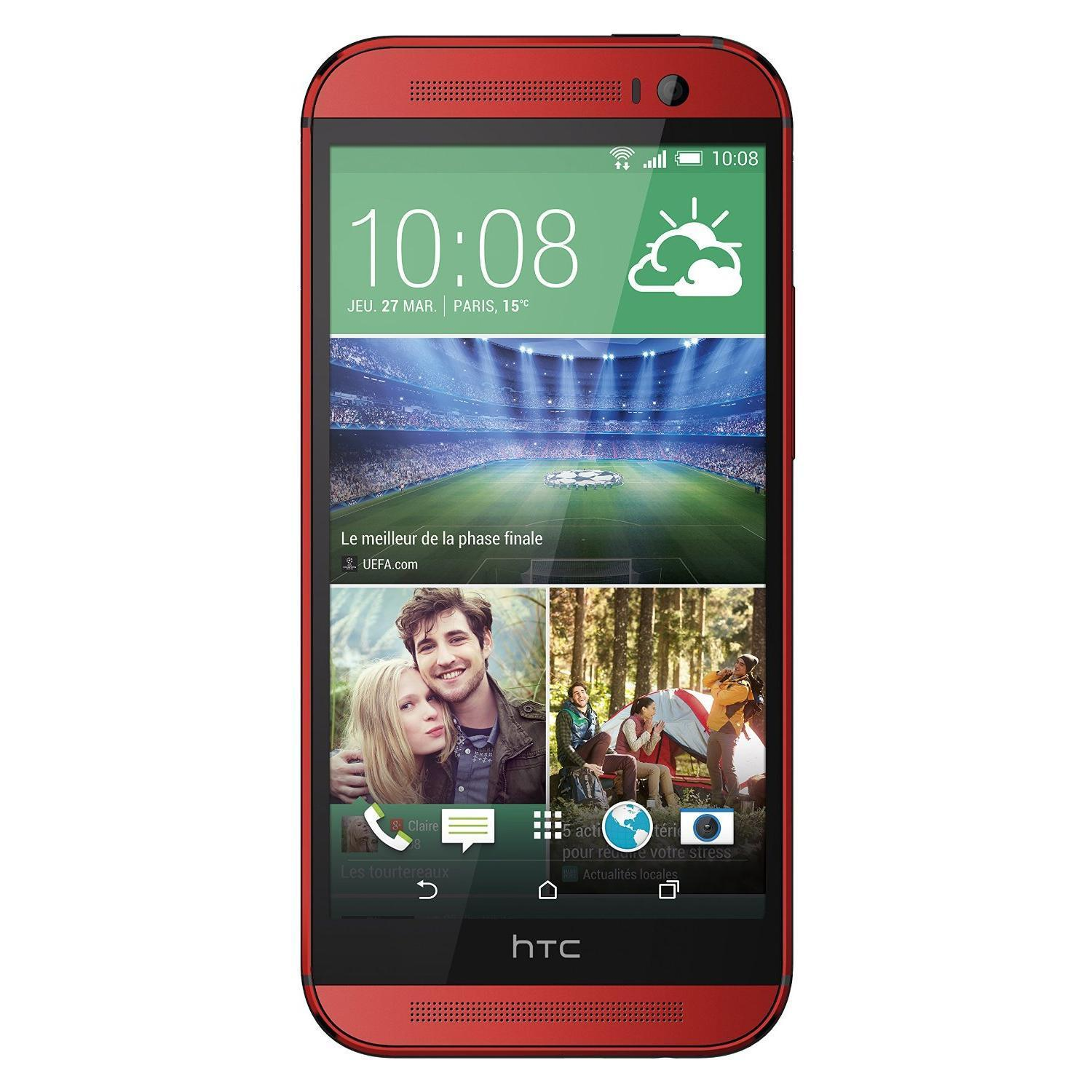 HTC One 32 Go - Rouge - Orange