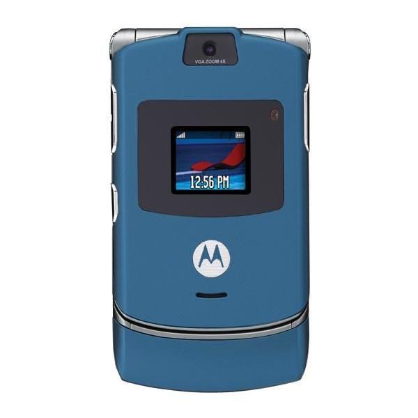 Motorola V3 Bleu Débloqué