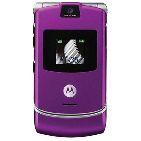 Motorola V3 Violet Débloqué