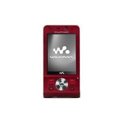 Sony Ericsson w910i Rouge Débloqué