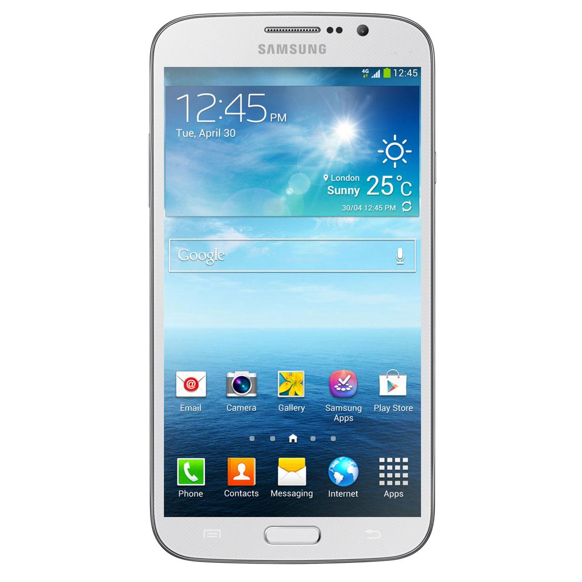 Samsung Galaxy Mega 6.3 4G - Blanc - Débloqué