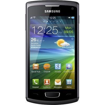 Samsung Wave 3 4 Go - Noir - Orange