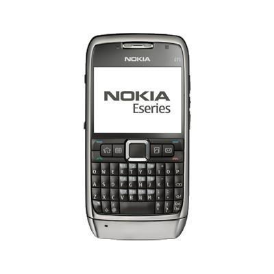 Nokia E71 - Silver - Débloqué
