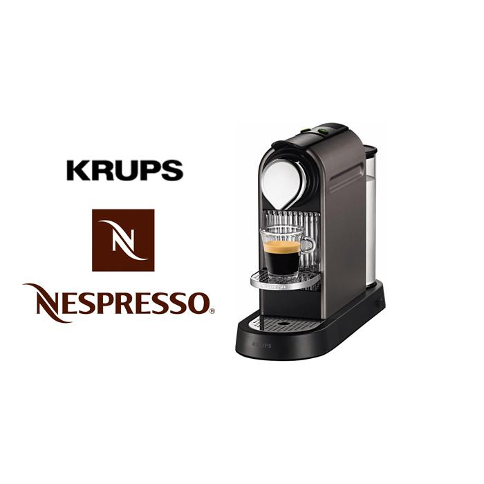 Krups - XN720T - Machine à café Nespresso citiz