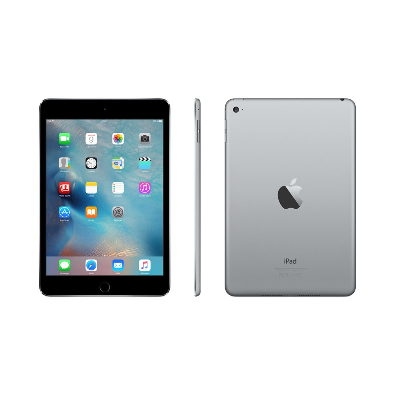 iPad mini 4 64 Go - 4G - Gris sidéral - Débloqué