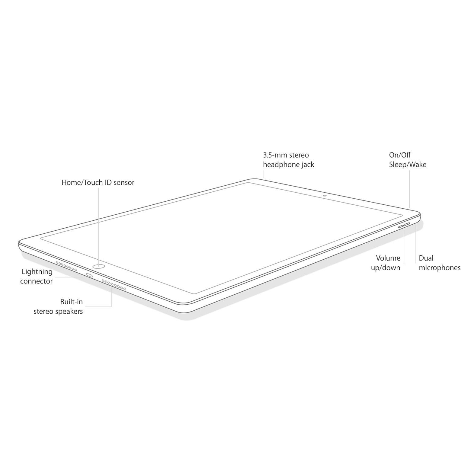 iPad mini 4 128 Go - 4G - Argent - Débloqué