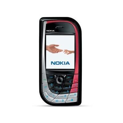 Nokia 7610 - Noir/Rouge - Débloqué