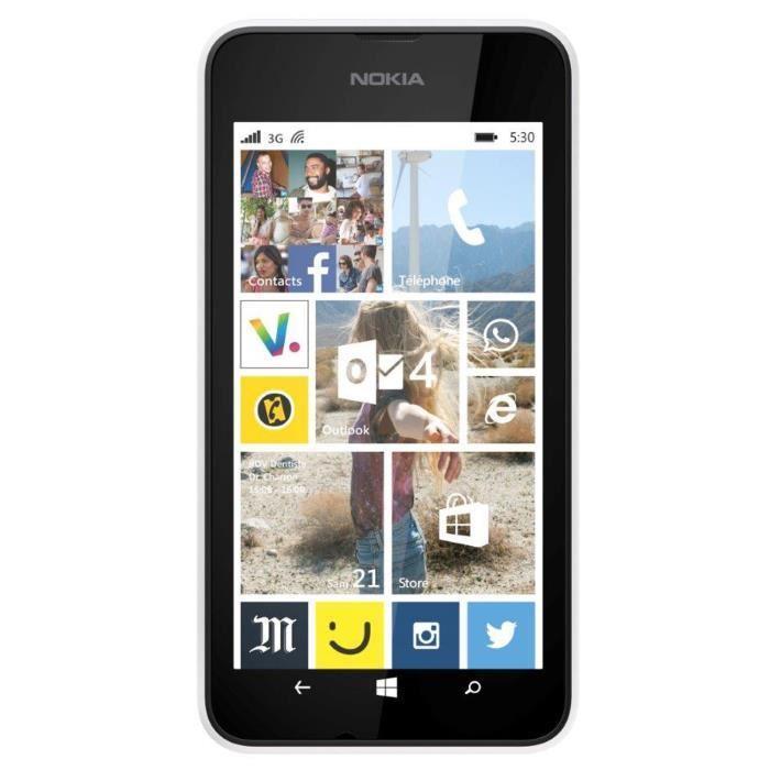 Nokia Lumia 530 - Blanc - Débloqué