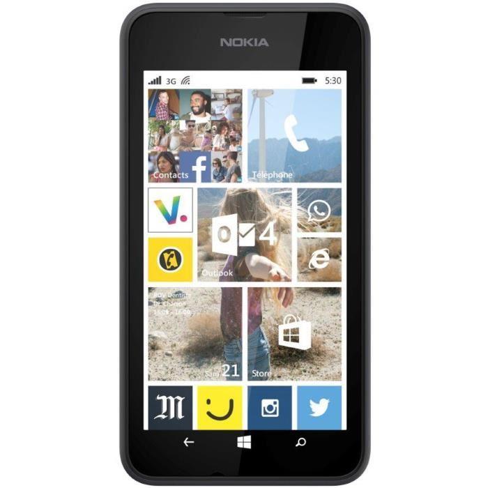 Nokia Lumia 530 - Schwarz - Ohne Vertrag