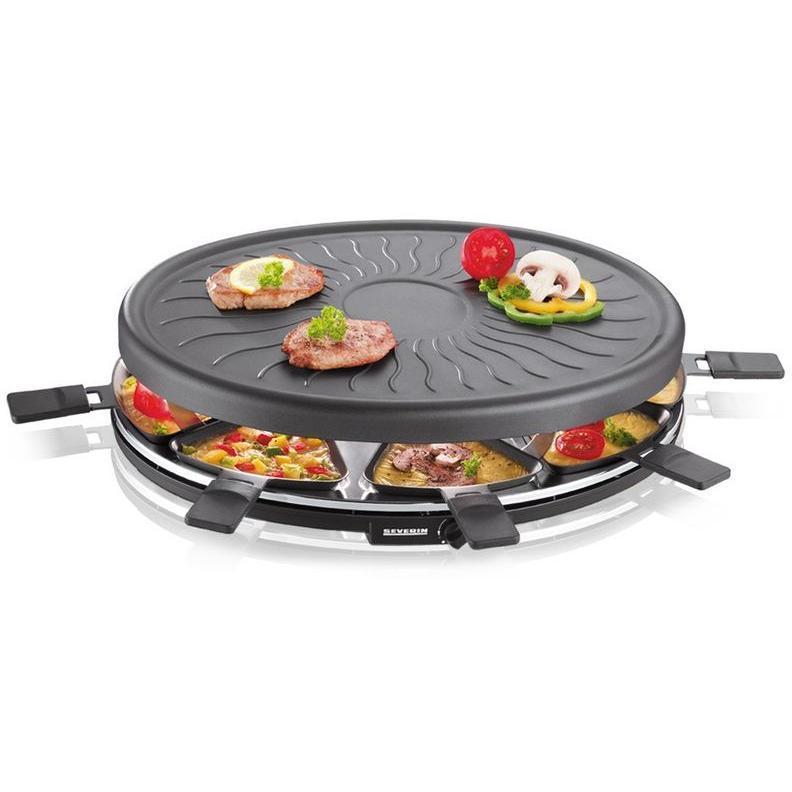 Severin -  RG2681 - Raclette multifonction 8 coupelles