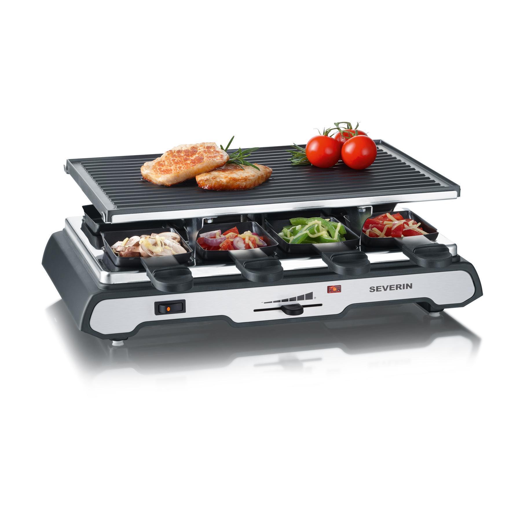 Severin - RG2685 - Appareil à raclette + grill 1300W