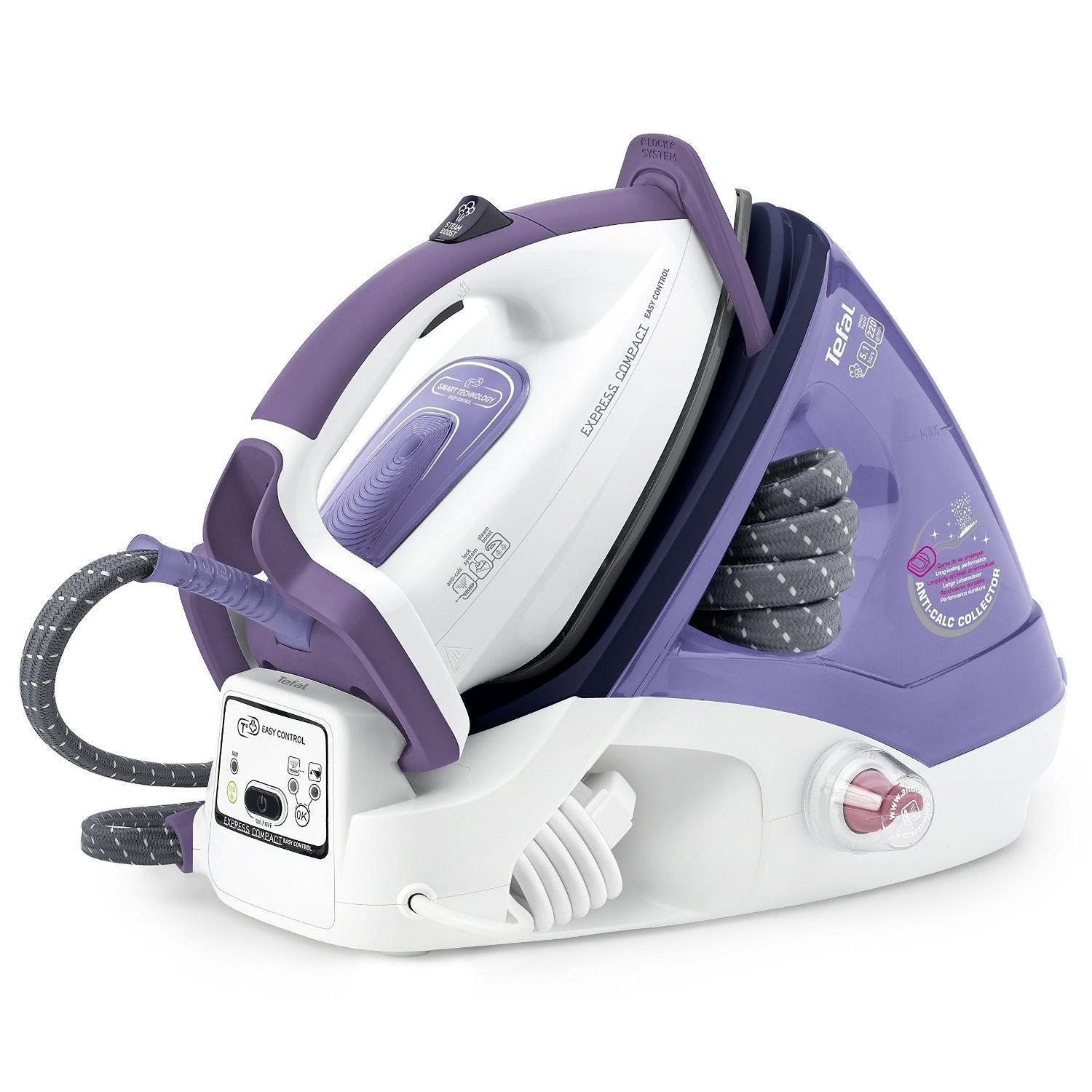 Tefal - GV7630 - Central vapeur express compact easy control