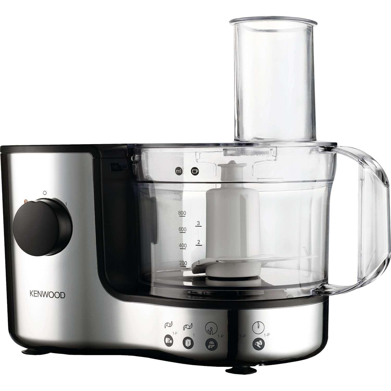 Robot culinaire Kenwood FP126 Compact -1,4 litre (Chrome)