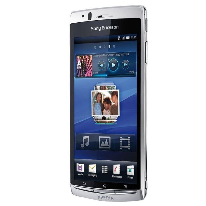 Sony Ericsson Xperia Arc - Argent - Débloqué