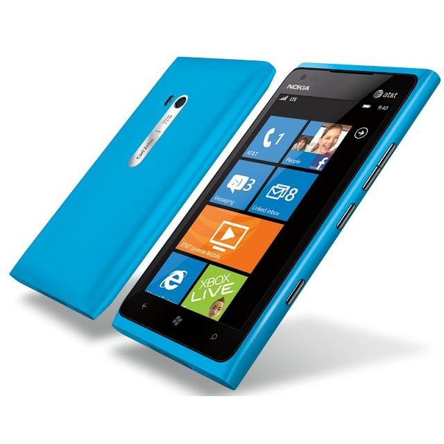 Nokia Lumia 900 - Bleu - Débloqué