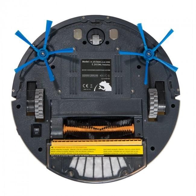 Aspirateur Robot E.Zicom E.Ziclean Slim Serie