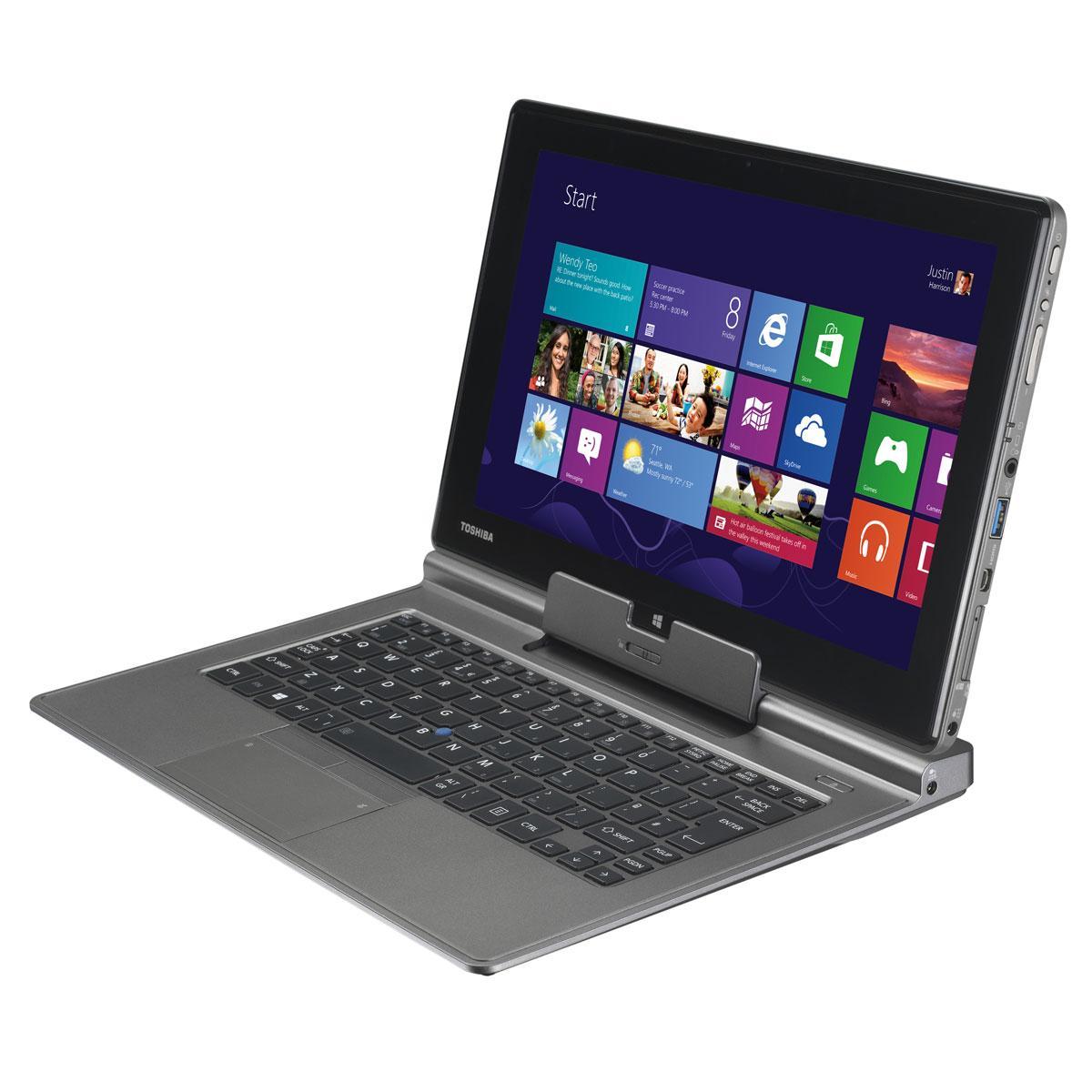 """Toshiba PORTEGE Z10T-A-12M 11,6""""  1.7 GHz GHz  - HDD 256 Go - RAM 8 Go"""