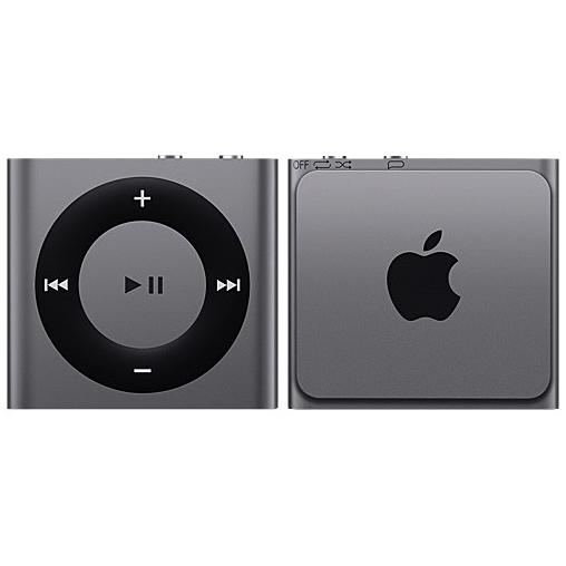 iPod Shuffle 4 - 2 Go - Gris Sidéral