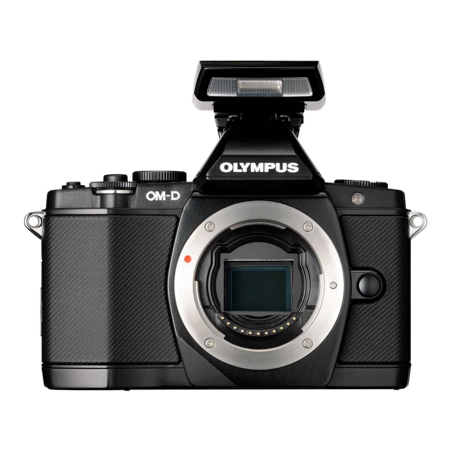 Olympus E-M5 + 12-50MM + FLASH FL-LM2