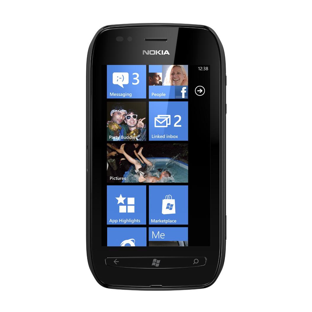 Nokia Lumia 710 - Noir - Débloqué