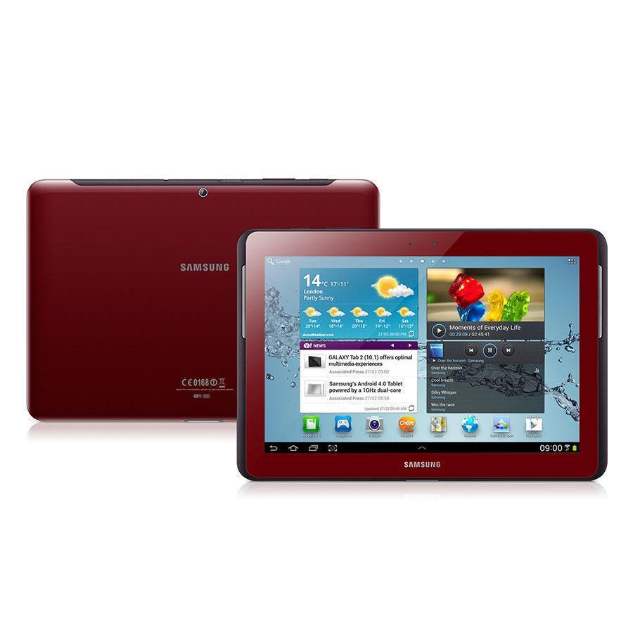 Samsung Galaxy Tab 2 10.1 16 Go Wifi - Rouge - Débloqué