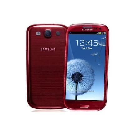Samsung Galaxy S3 I9300 16 Go - Rouge - Débloqué