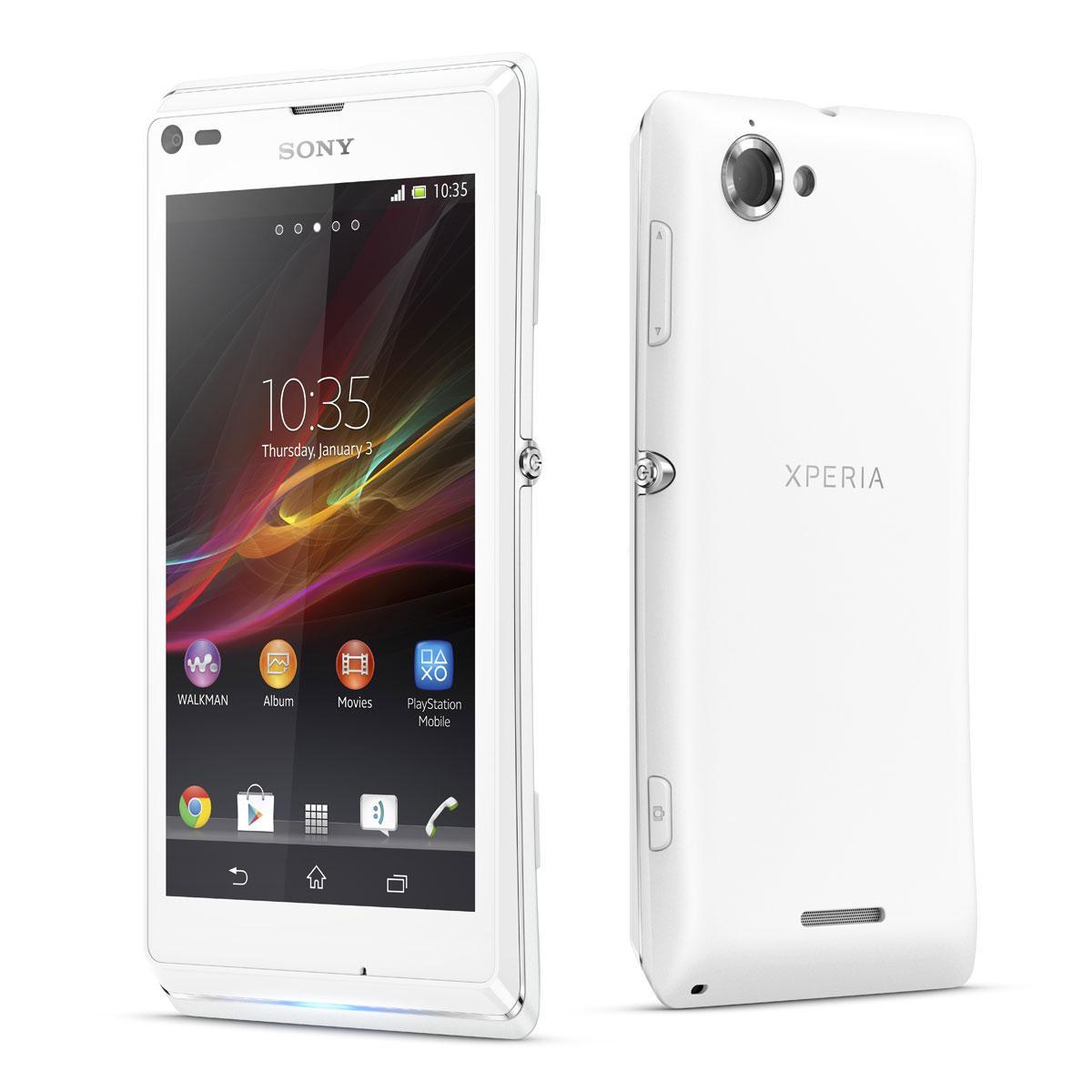 Sony Ericsson Xperia L - Blanc - Débloqué