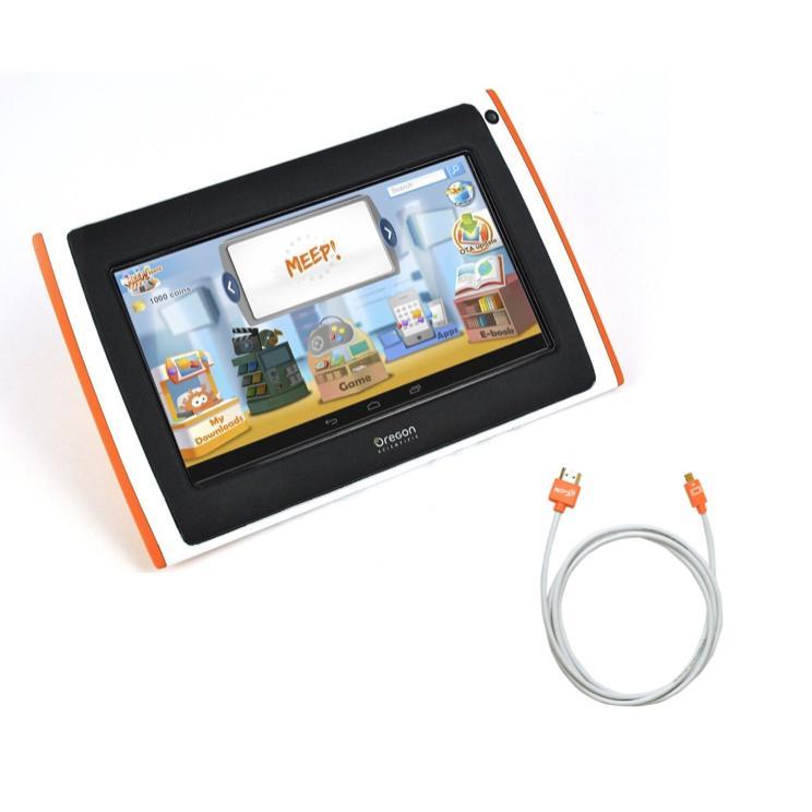 Pack Tablette MEEPX2 pour enfant Rose (+ câble HDMI)