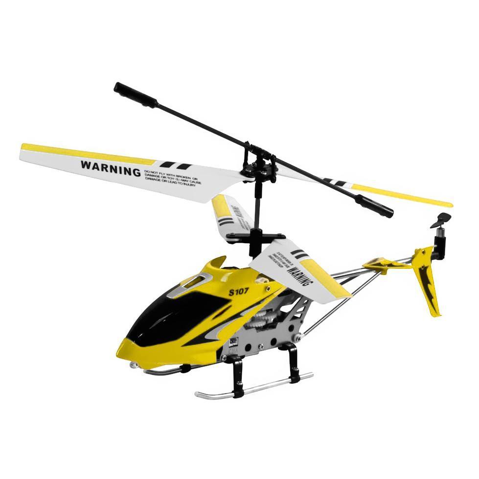 i-Hélicoptère Jaune - Télécommandé pour appareils Apple et Android