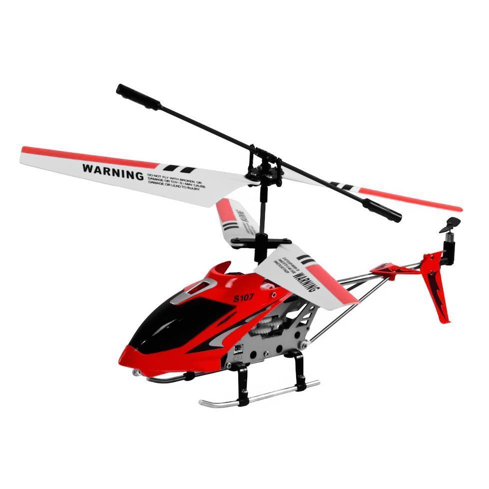 i-Hélicoptère Rouge - Télécommandé pour appareils Apple et Android