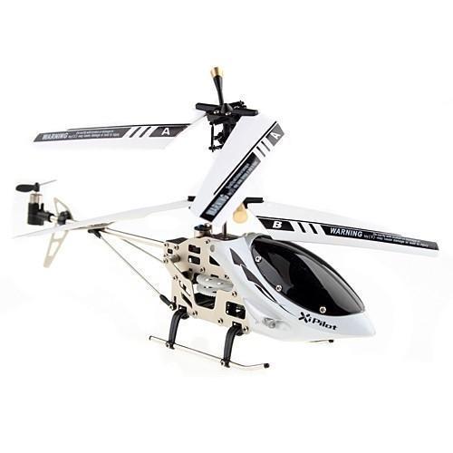 i-Hélicoptère Blanc - Télécommandé pour appareils Apple et Android