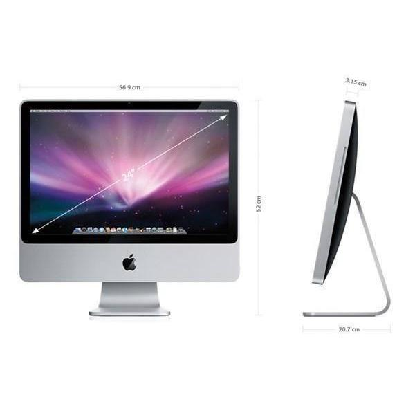"iMac 24"" Core 2 Duo 2,8 GHz - HDD 500 Go - RAM 4 Go"