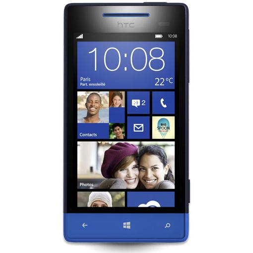 HTC Windows Phone 8S 4 Go Bleu
