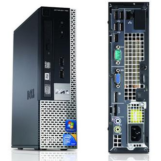 Dell OPTIPLEX 780 USFF  CORE2DUO 2.8 GHz  - HDD 250 Go - RAM 4096 Go