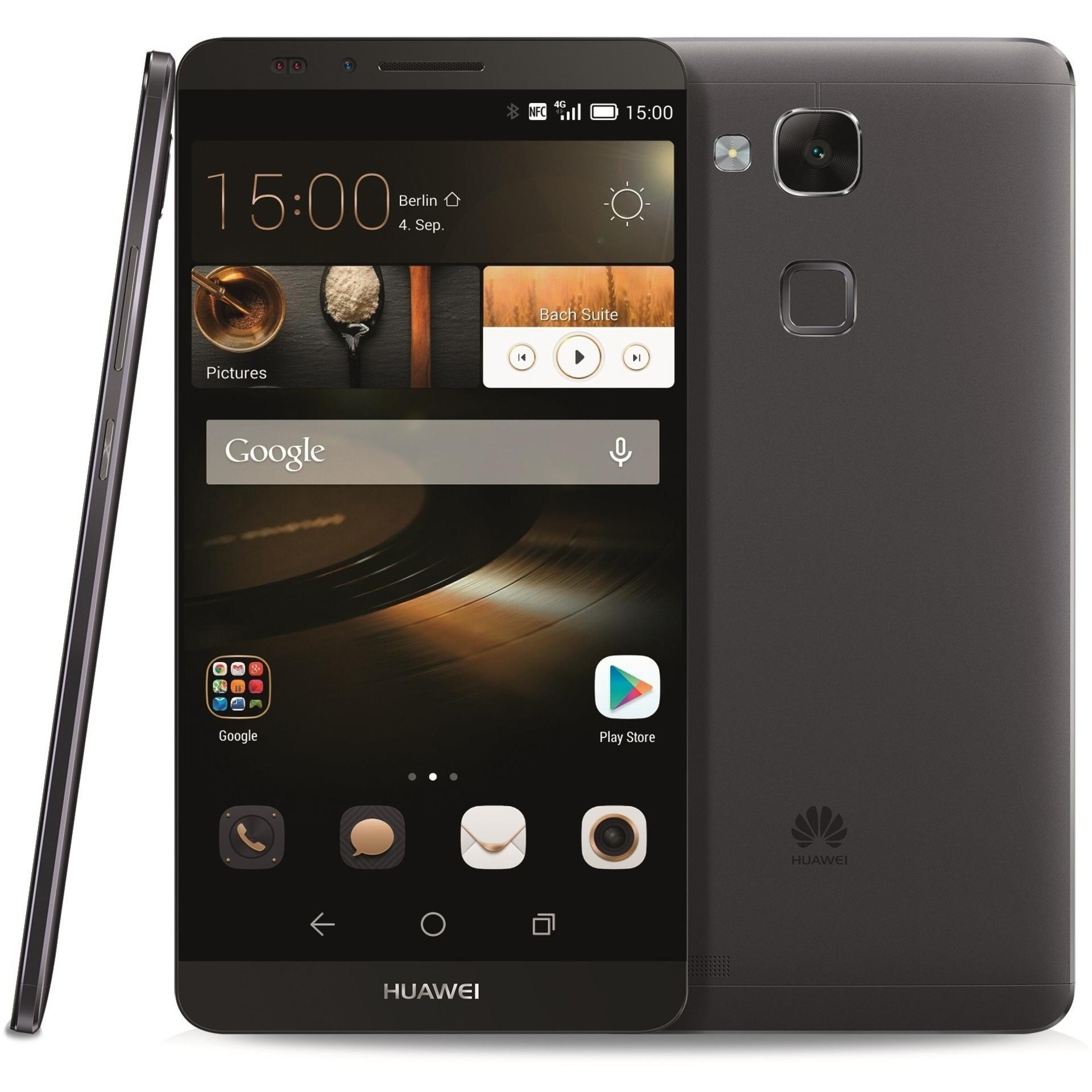 Huawei Ascend Mate 7 16GB - Schwarz - Ohne Vertrag