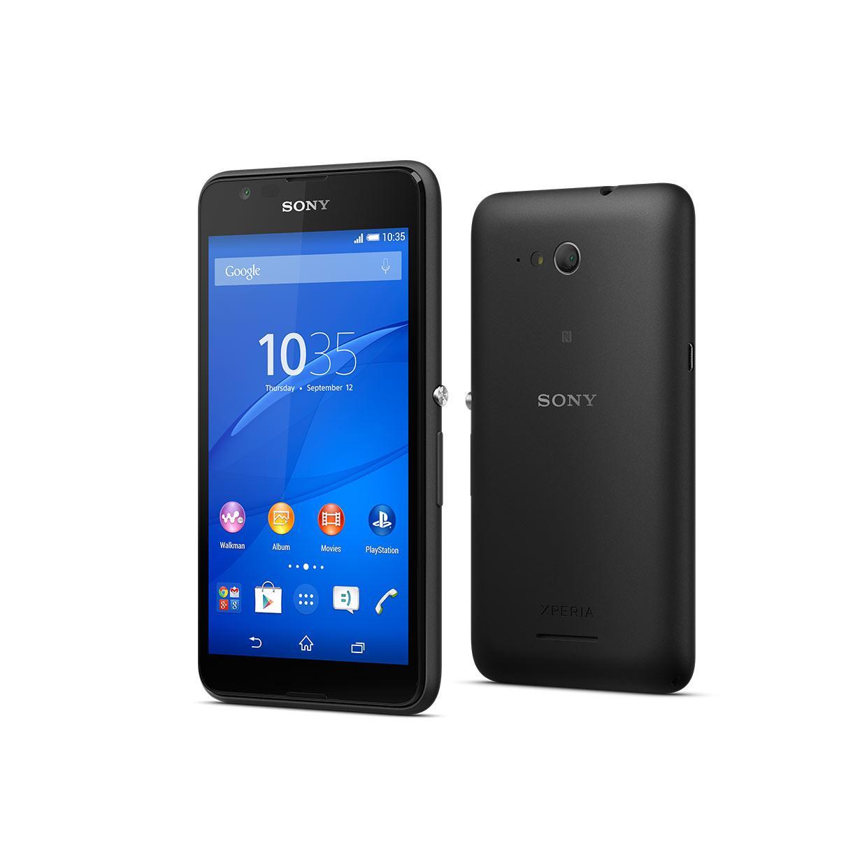 Sony Xperia E4 8 Go - Noir - Débloqué