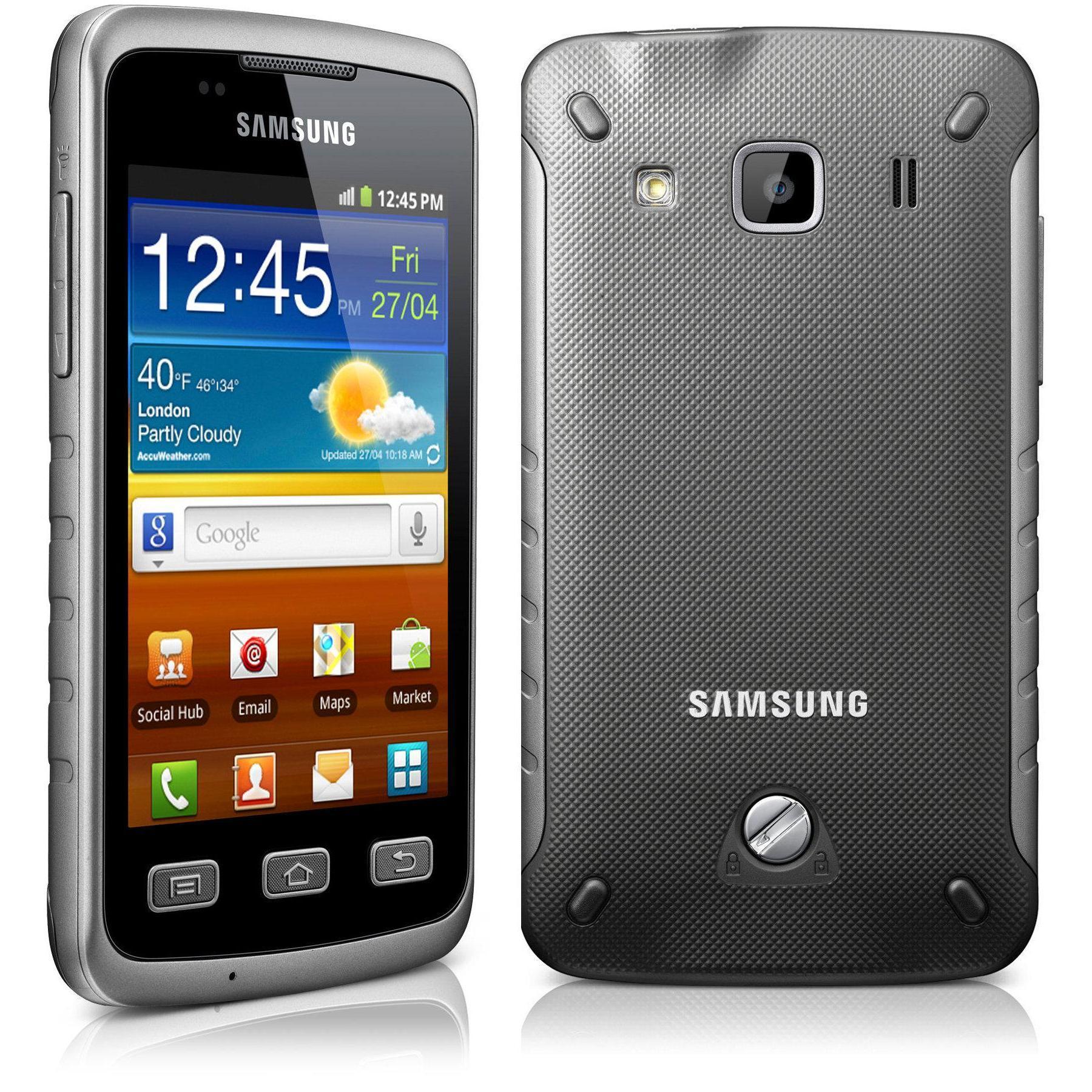 Samsung Galaxy Xcover GT-S5690 - Gris - Débloqué