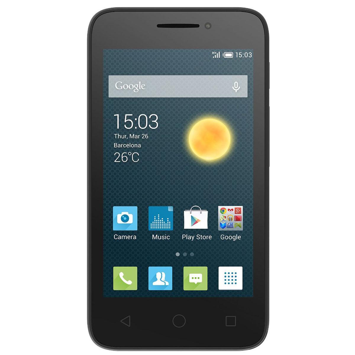 Alcatel One Touch PIXI 3 4Go - Noir - Débloqué