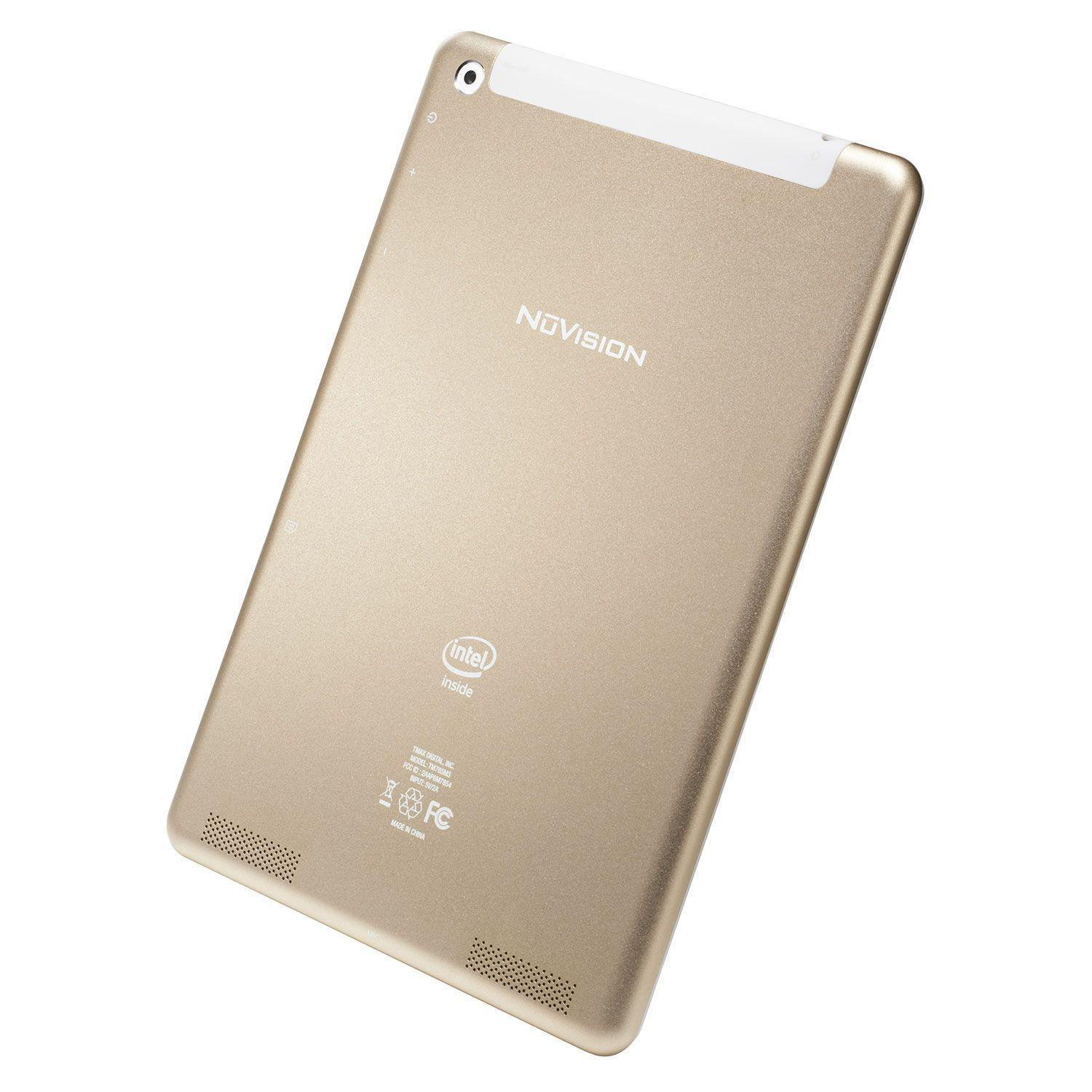 "Nuvision 7.85 - 7.9"" 16 GB  - Champagne"
