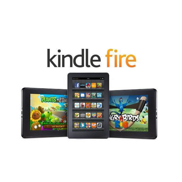 Amazon Kindle Fire HD 8Go - 7'''' 8 Go -  - Noir
