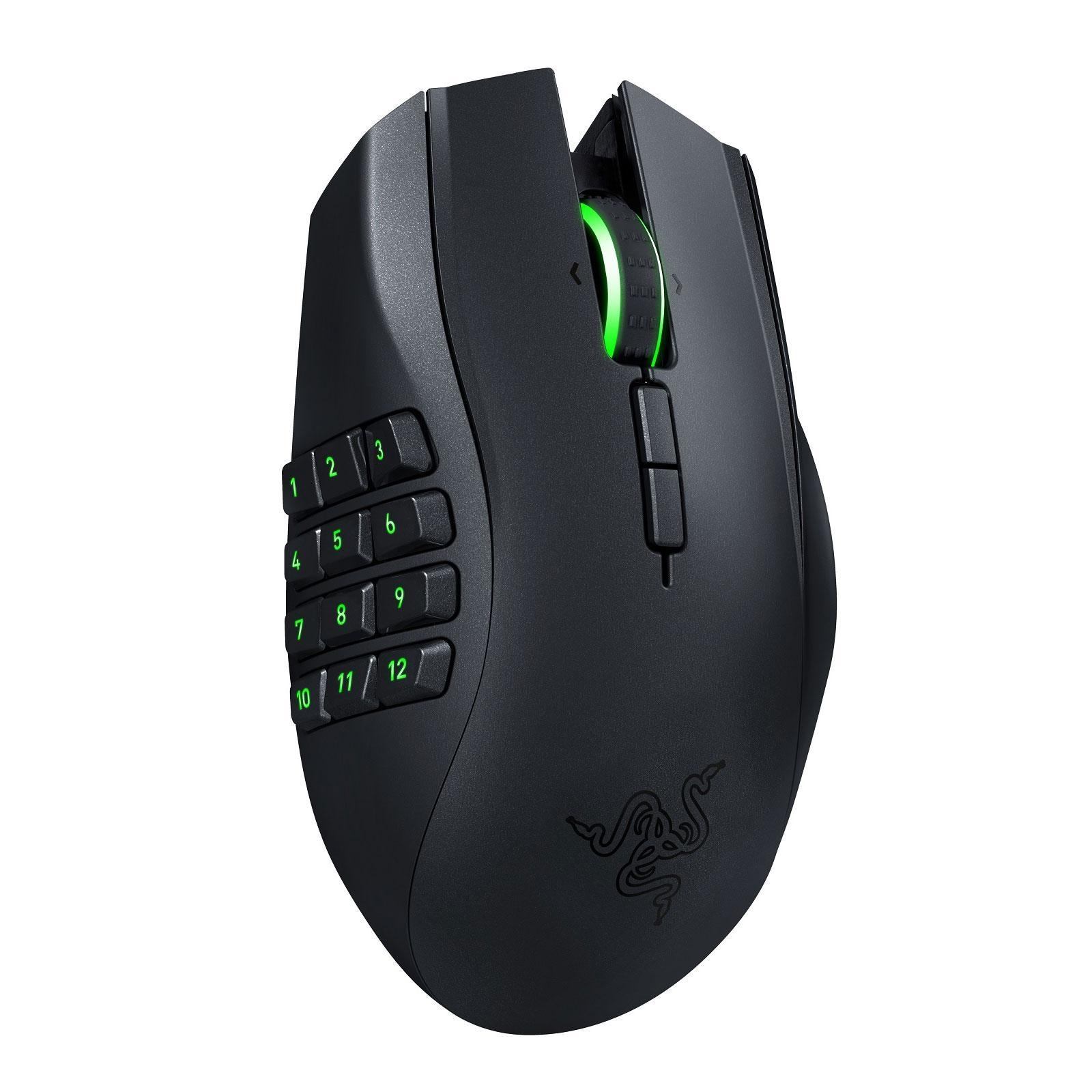 Souris Razer Naga Epic Chroma MMO Wireless - Noir