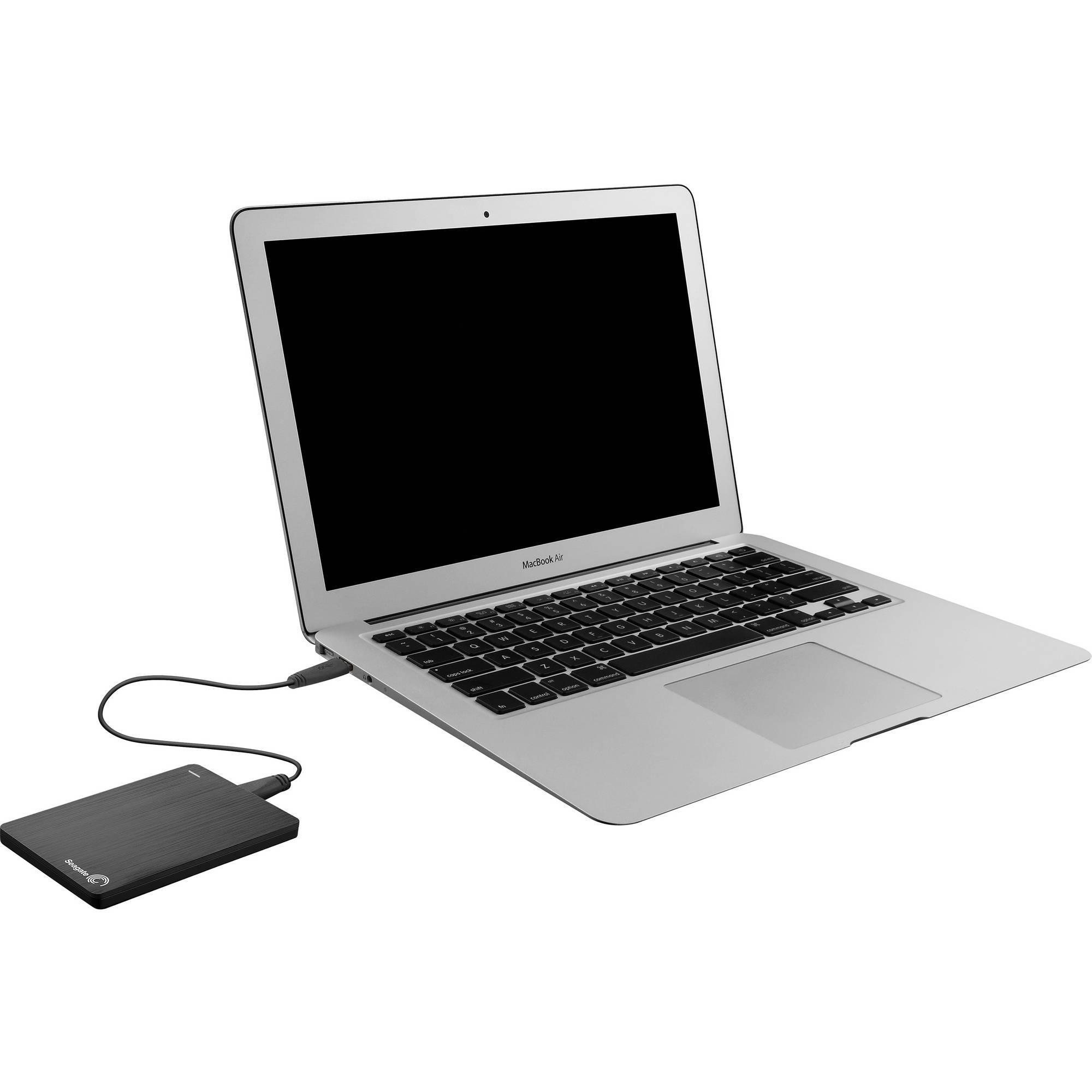 Disque dur externe SEAGATE Backup Plus Slim 500Go 2.5'' USB 3.0 - Noir