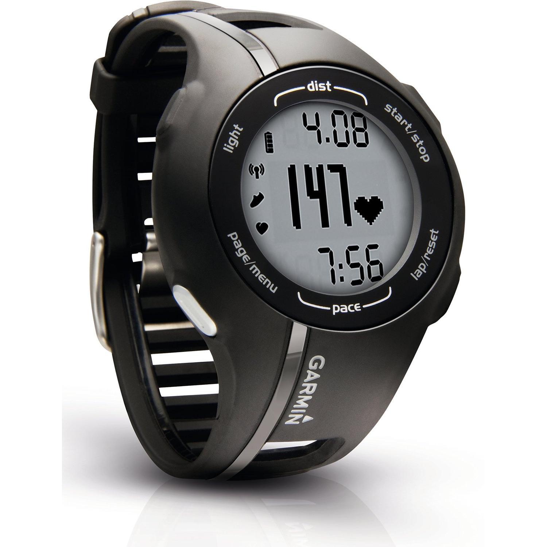 Reloj Garmin Forerunner 210 - GPS HR - Negro