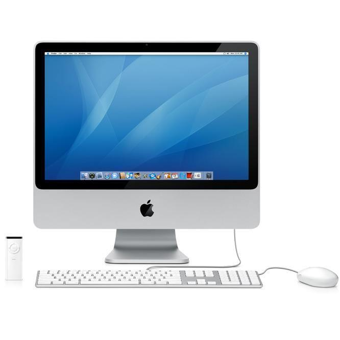 iMac Core 2 Duo 2,4Ghz 1Go 250Go 20'' - Qwerty