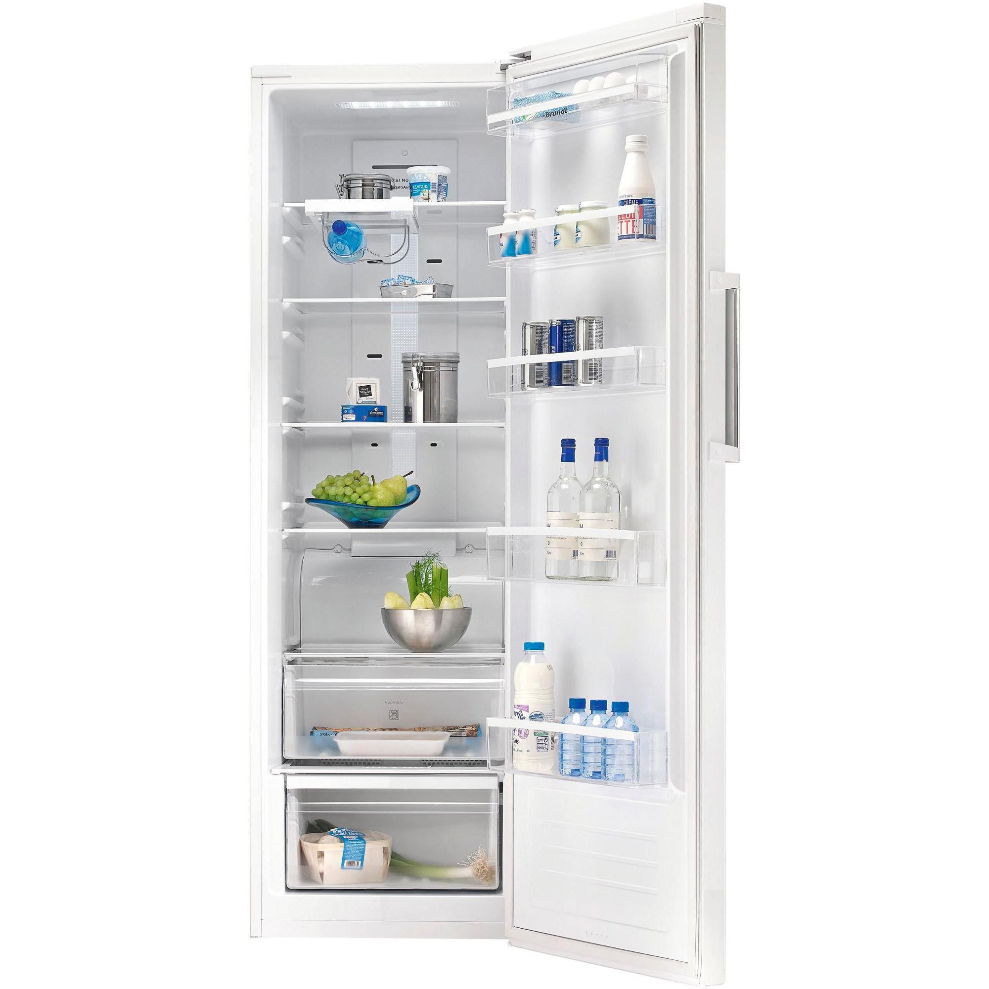 Réfrigérateur 1 porte Brandt BFL484YNW